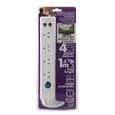 L54000 - 4 Outlet Powerboard with TV surge protection